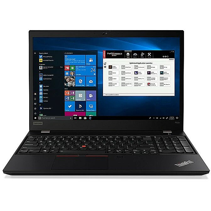 Lenovo ThinkPad P53s Black, 15.6