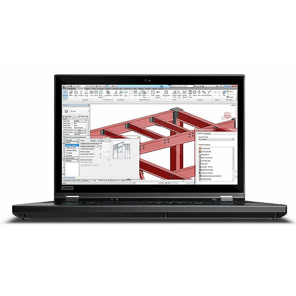 Lenovo ThinkPad P53 Black, 15.6