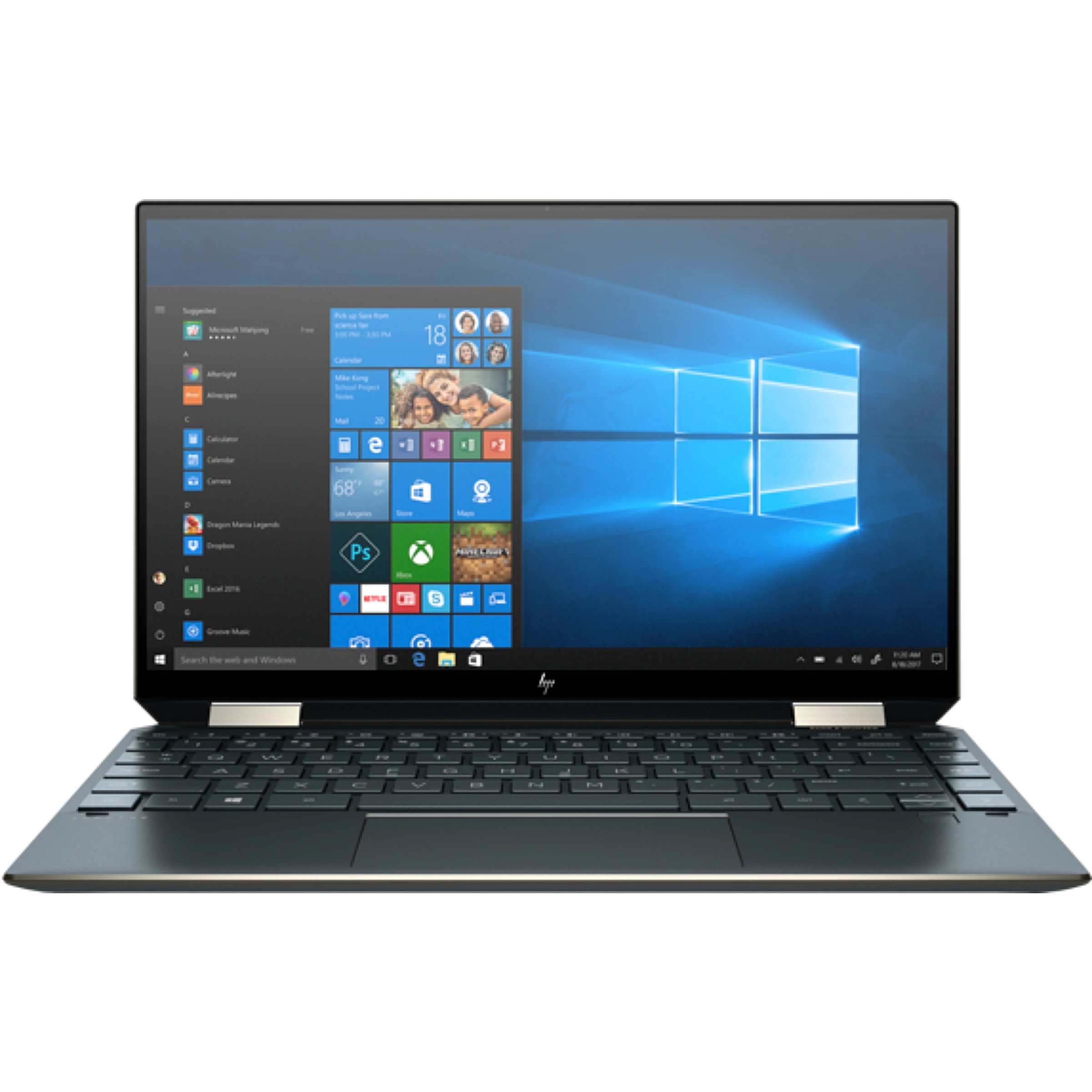 Hewlett Packard Spectre x360 13 Nightfall Black, 1..