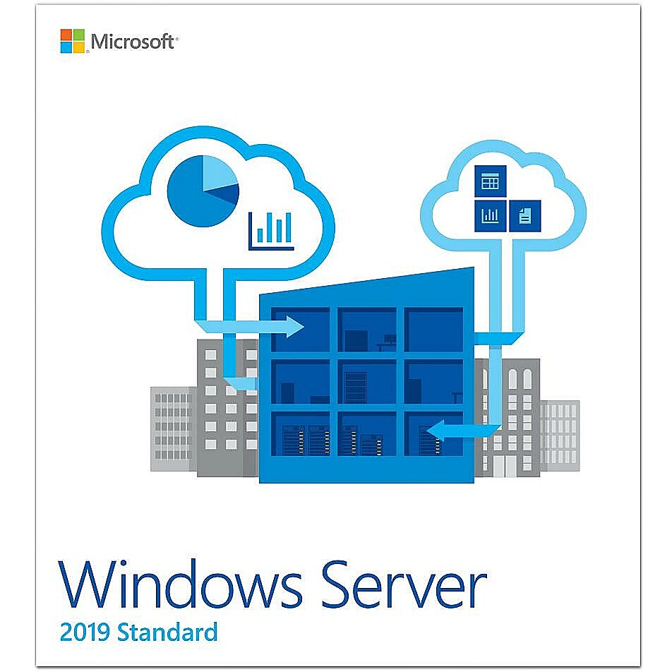 Microsoft Windows Server 2019 Standard, 64bit, Eng..