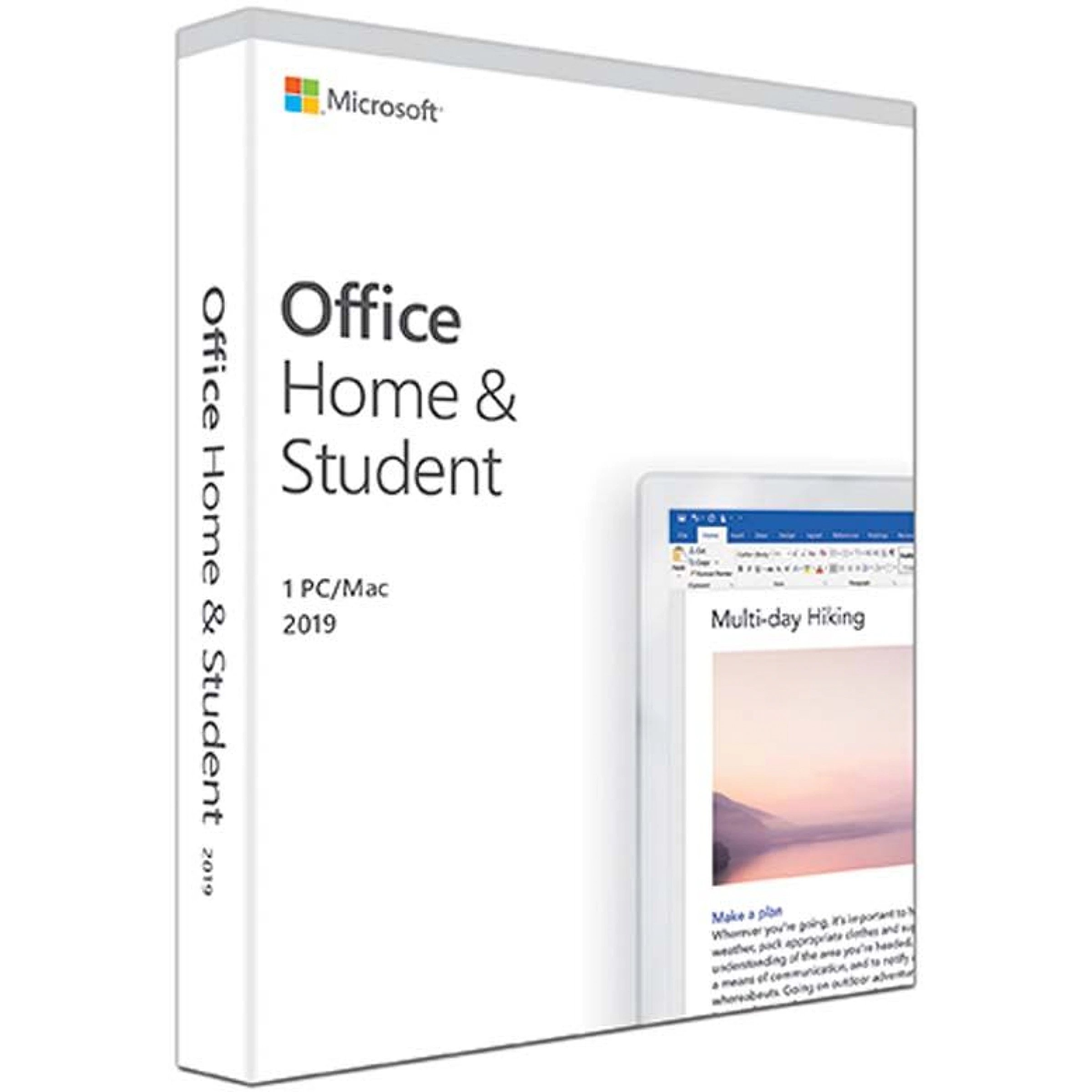Microsoft Office Home & Student 2019, Russian