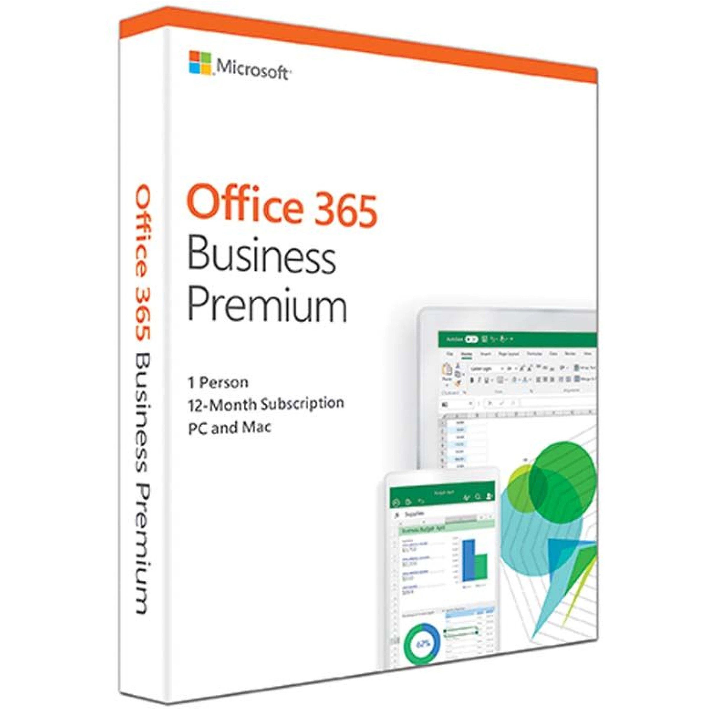 Microsoft Office 365 Business Premium, Russian, 1 ..