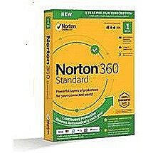 Symantec Norton 360 Standard 10GB PL 1 user, 1 dev..