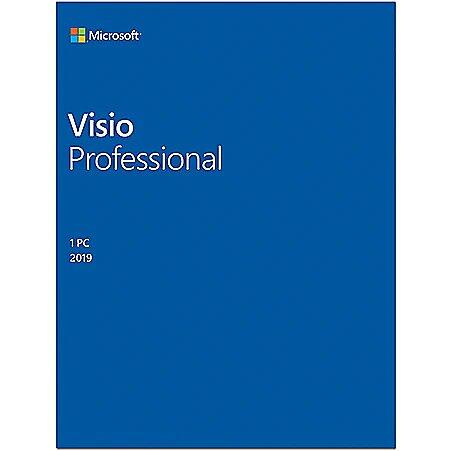 Microsoft D87-07425 Visio Pro 2019 ESD, Multilingu..