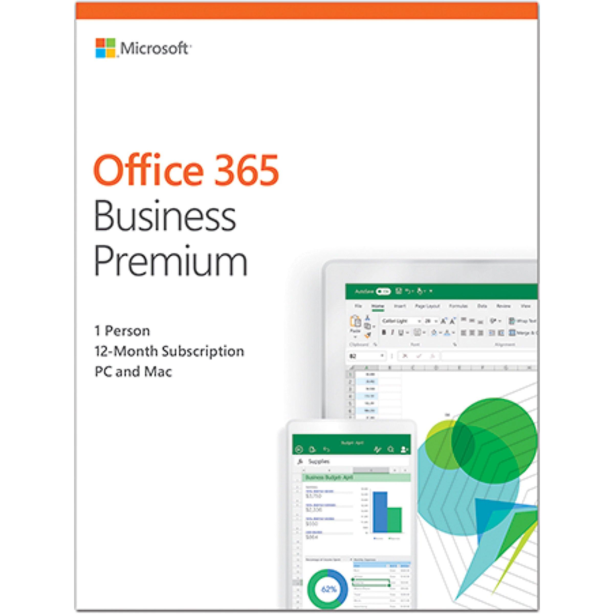Microsoft KLQ-00211 Office 365 Business Premium Re..