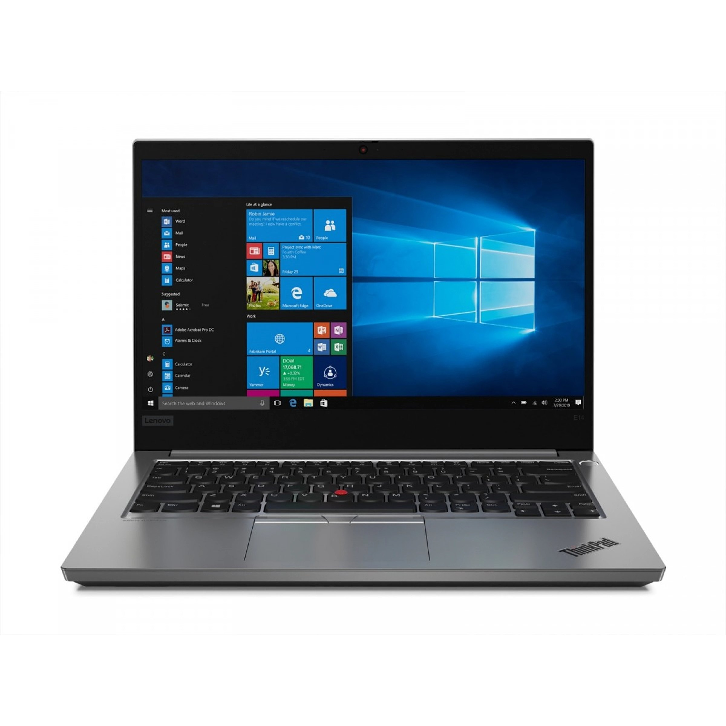 Lenovo Laptop ThinkPad E14 20RA0015PB W10Pro i5-10..