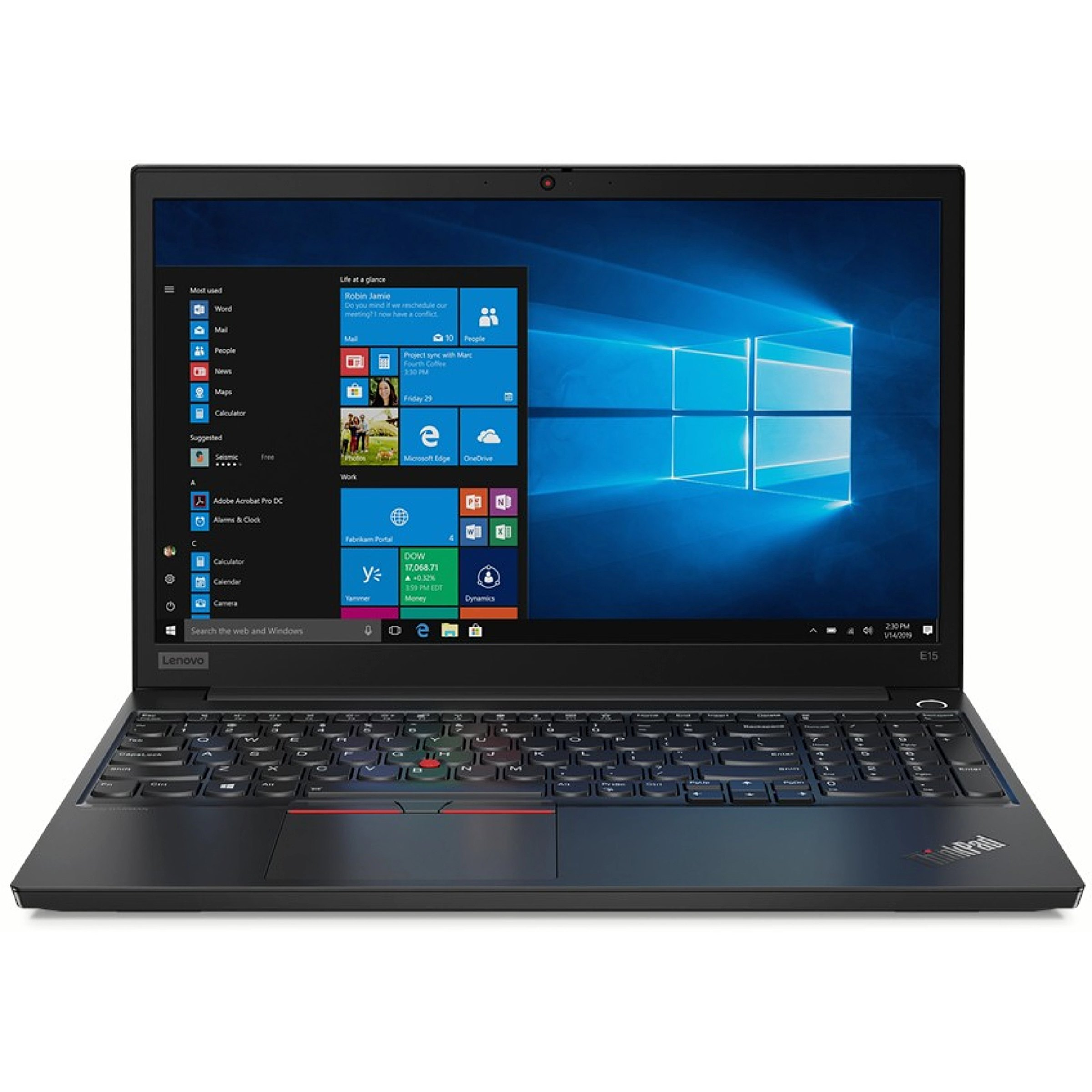 Lenovo Laptop ThinkPad E15 20RD0015PB W10Pro i7-10..