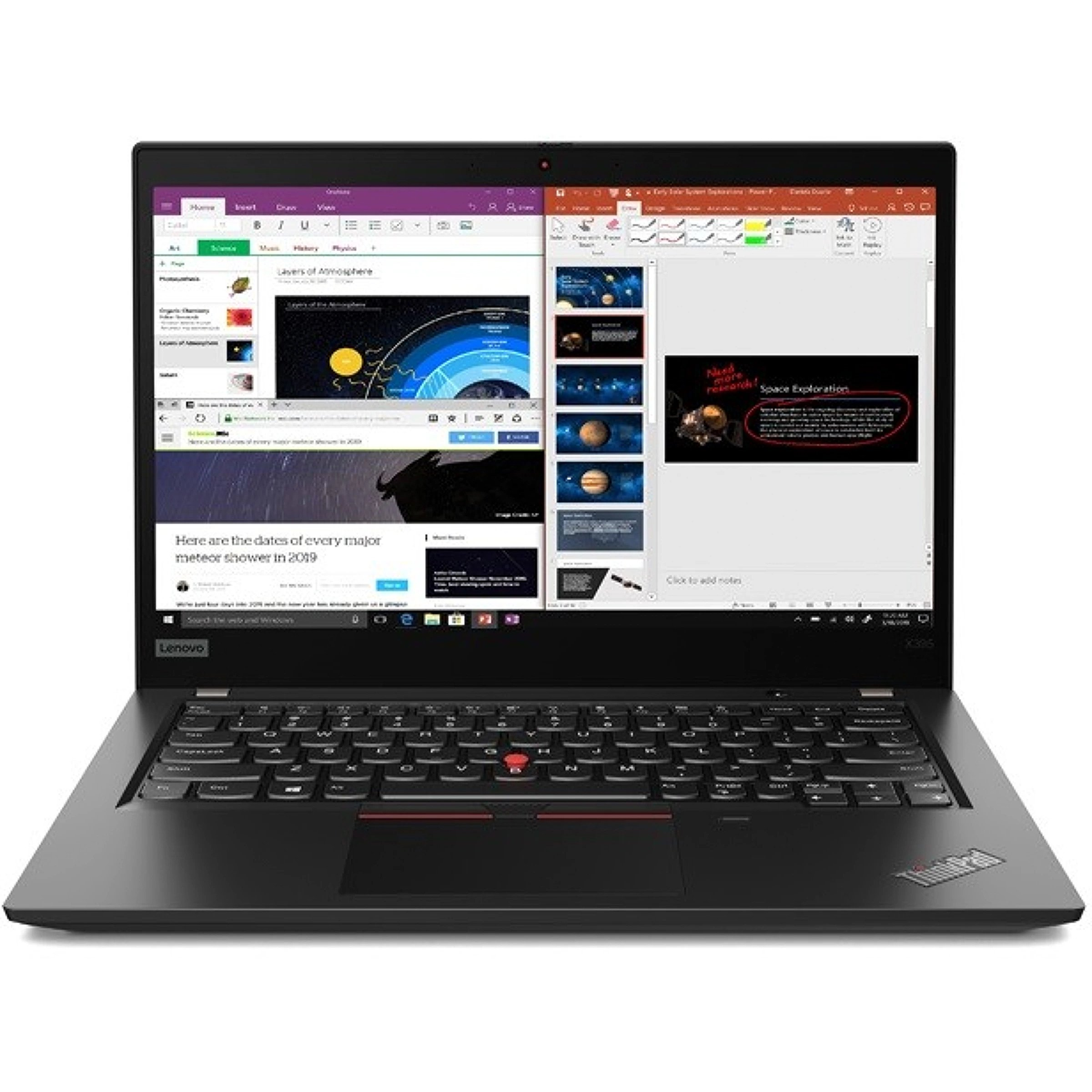 Lenovo ThinkPad X395 Black, 13.3