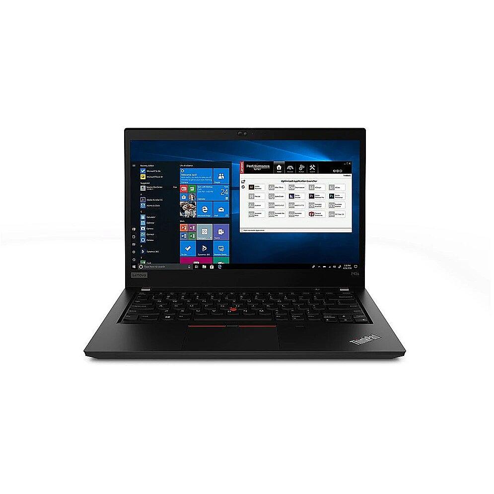 Lenovo ThinkPad P43s Black, 14