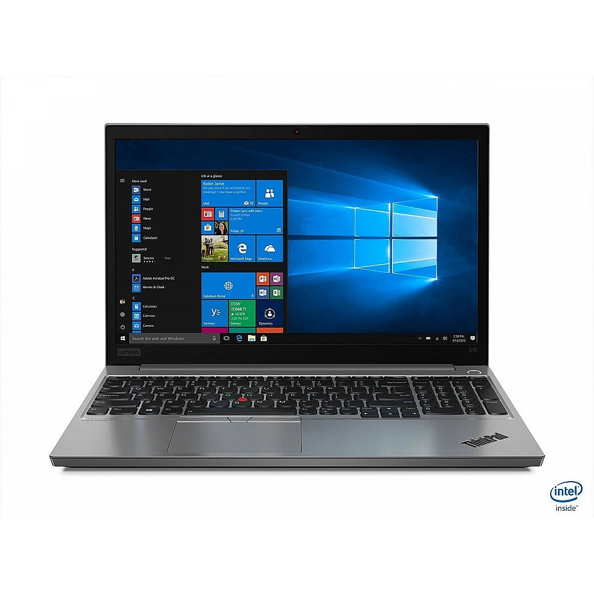 Lenovo Laptop ThinkPad E15 20RD001GPB W10Pro i5-10..